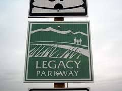 Legacy Parkway shield