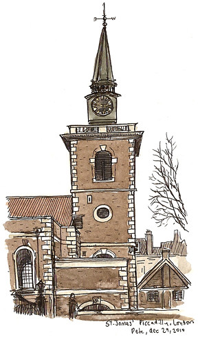 st james church, piccadilly
