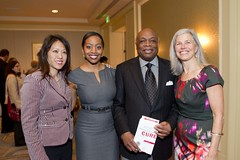 Willie Brown, Susan Axelrod and friends