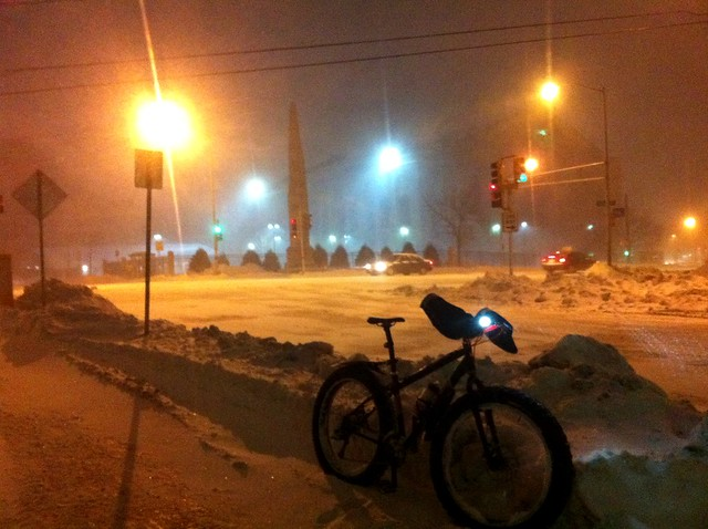 Blizzard for the ride home!