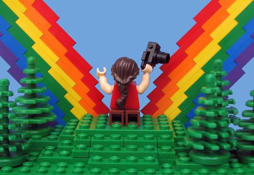 Double Rainbow! by bruceywan