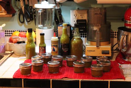 Green Sauce Haul