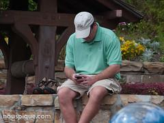 Texting at the Magic Kingdom