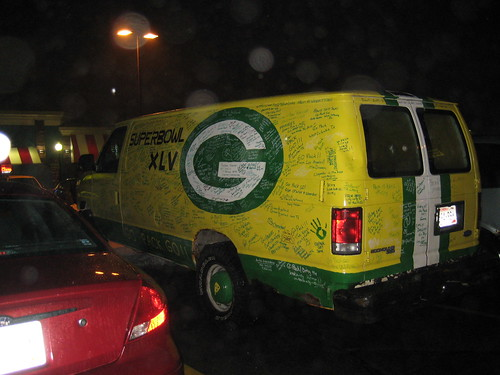 GB packer van