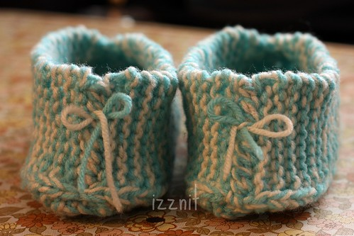 Granny Slippers - Back Bows