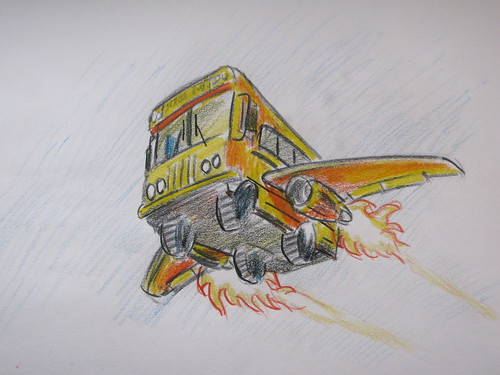 Bus color sketch 2