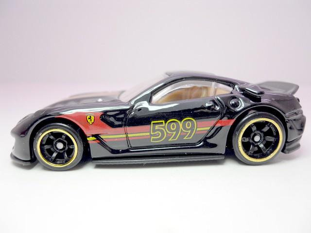 hot wheels speed machines ferrari 599 XX blk (2)