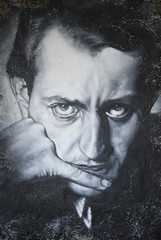 André Malraux painted portrait _DDC2930
