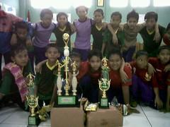 Juara I dan II Futsal Rafucom Cup Tk. Depok 2011