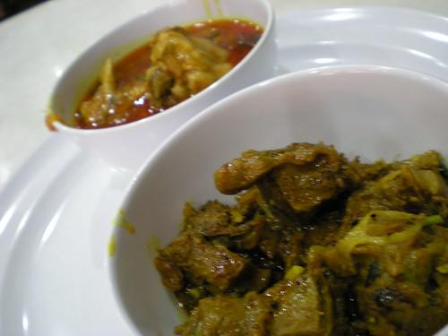 Bukit Bintang KL - curries for naan
