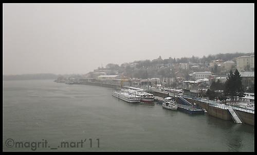 above Sava river