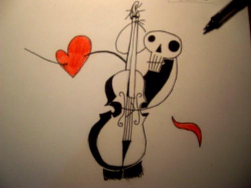 Musicanima - I pennarelli - Disegno Martina C. - Poesia Marco Vasselli