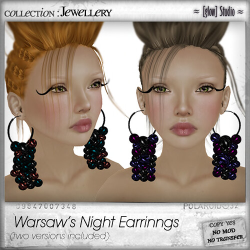 [ glow ] studio Warsaw's night earrings