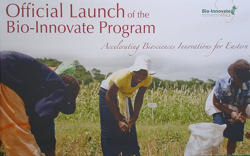 Bio-Innovate launch: Announcement poster