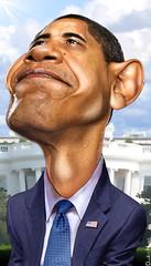 Barack Obama - Caricature