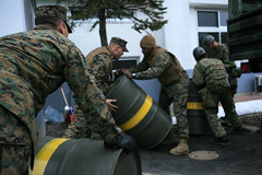 Mechanic helps deliver heating fuel during Operation Tomodachi