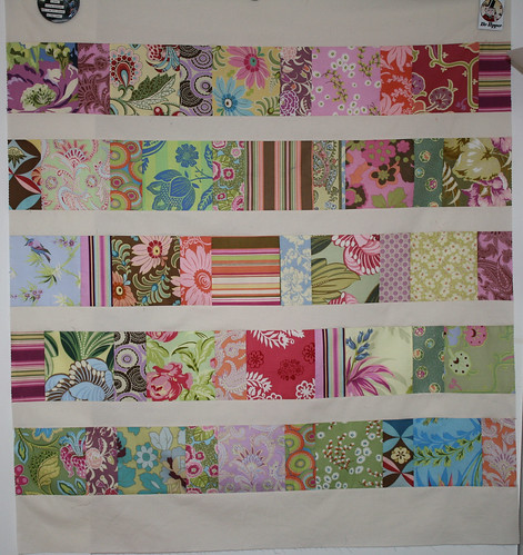 YIP 275.365 Charm Square Baby Quilt