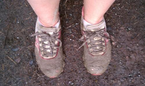 Muddy Shoes = Happy Gazelle!