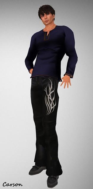 PEER Leather Edge Pants Zaara Adyan Kutrta Shirt