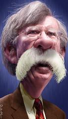 John Bolton - Caricature