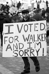 I Voted For Walker And I'm Sorry!