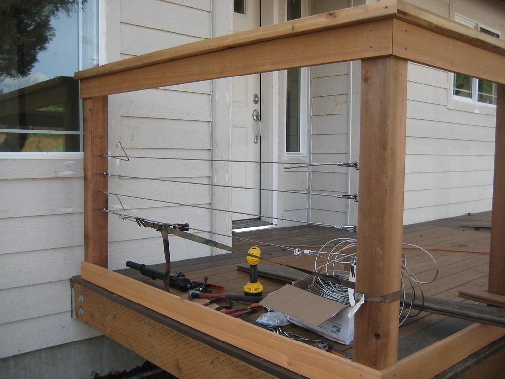 Toledo Oregon Adair 1560 | Cable Stair Railing Diy