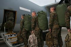 III MEF deploys