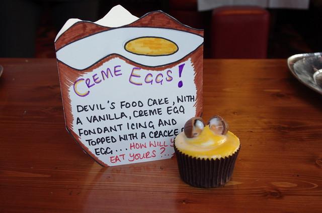 Iron Cupcake Creme Egg Cupcake