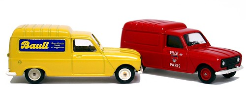 Solido Renault 4 van