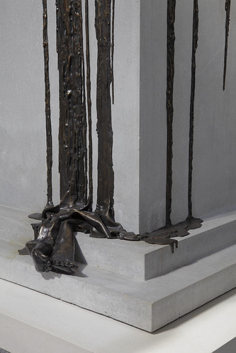 """In Mortal Repose"" sculpture by Diana Al Hadid"