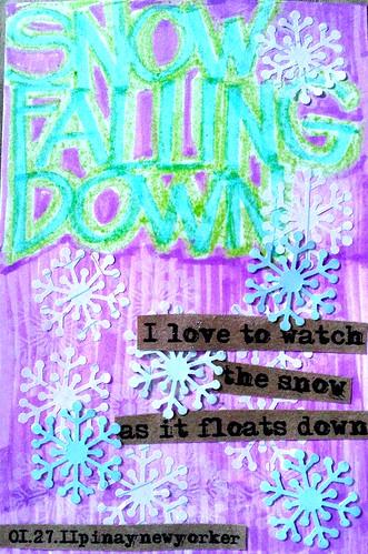Art Journal No. 3: Snow Day