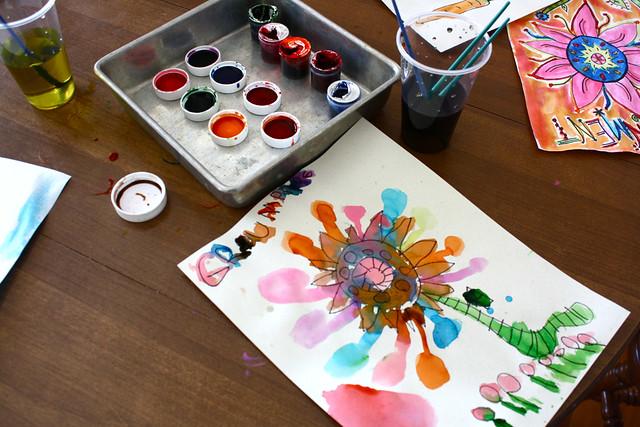 food coloring paint ii