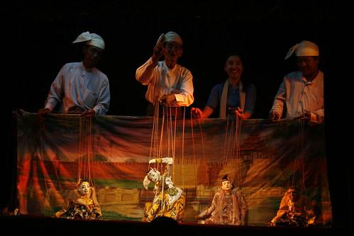 Compañía de Marionetas de Mandalay