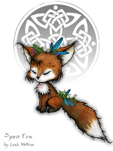 Celtic Spirit Fox (Spirit Fox version 2)