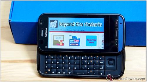 Unlocked Nokia C6 Smartphone