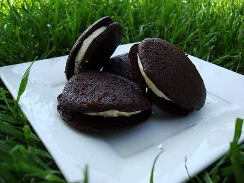 Chocolate Stout and Irish Cream Whoopie Pies