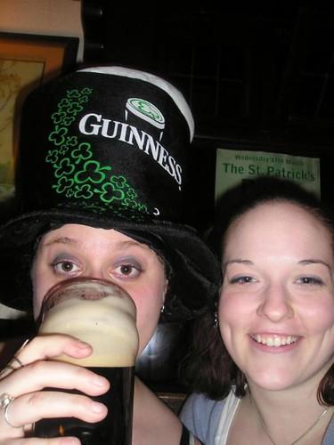 Rori and Mere St. Paddy's 2004