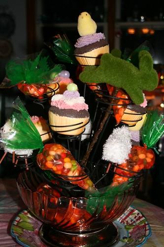 Easter themed cupcake holder