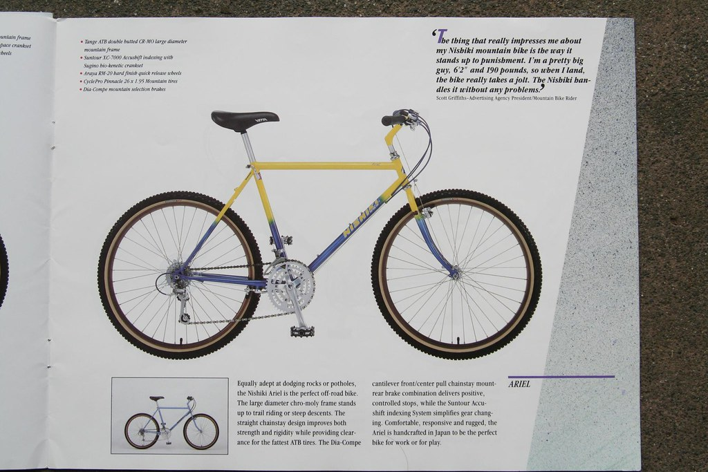 Omg 1987 Nishiki Catalog Bike Forums