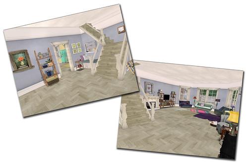 Style - Bluebonnet living room