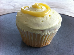 Bean Counter Bakery Luscious Lemon Cupcake