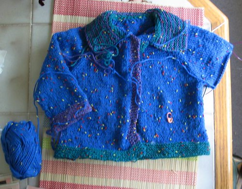 Buttons Baby Sweater 4a