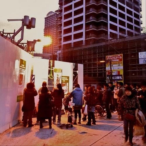 人が集う夕暮れ時… みなさん、お疲れ様でした。☆。.:*:・'゜ヽ( ´ー`)ノ まったね~♪ #Osaka #Abeno #evening