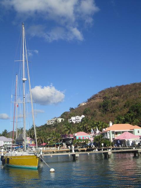 West End Harbor, Tortola
