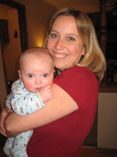 Loni and baby Aidan