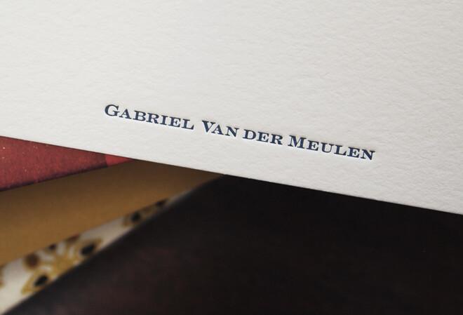 Gabe VanderMeulen | Stationery 01
