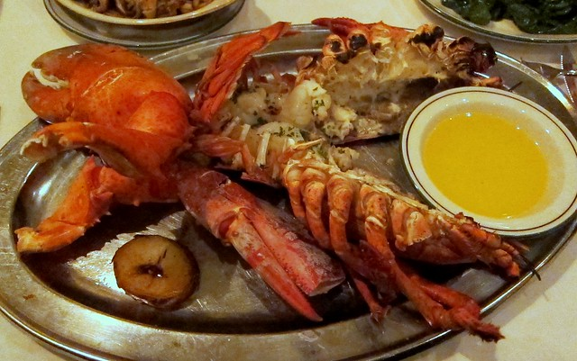 the palm - the crusteacean de resistance: el lobster