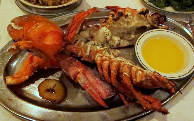 the palm - the crusteacean de resistance: el lobster