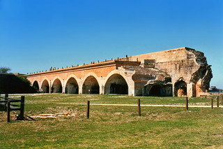 View of Fort PIckens, near Pensacola