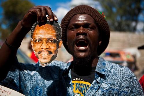 Aristide-Supporter